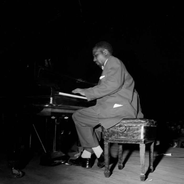 Thelonious Monk, Salle Pleyel, Tuesday, June 1, 1954, by Marcel Fleiss