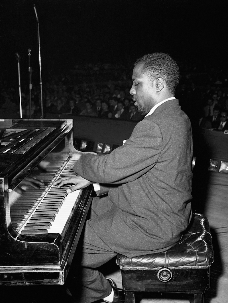 Thelonious Monk, Salle Pleyel, June 1954, by Marcel Fleiss