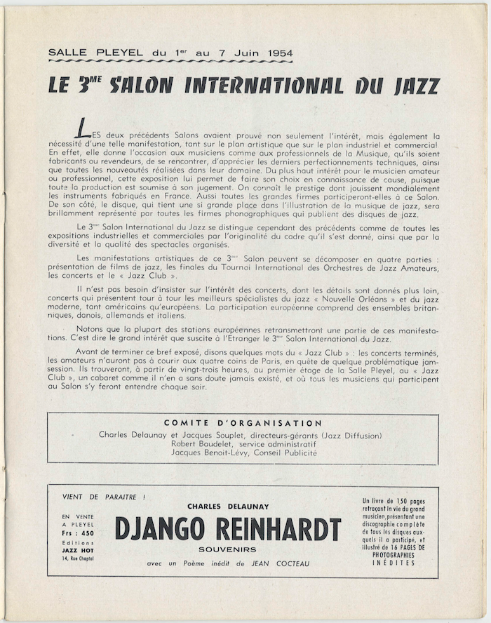Jazz In France Thelonious Monk